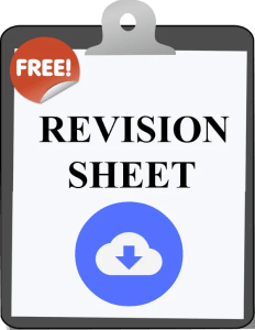 Download Revision Sheet