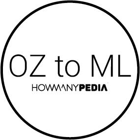 1 OZ to ML - Howmanypedia.com