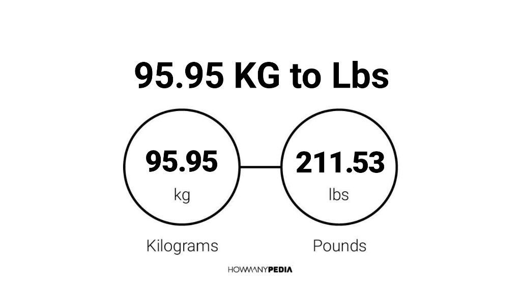95.95 KG to Lbs – Howmanypedia.com