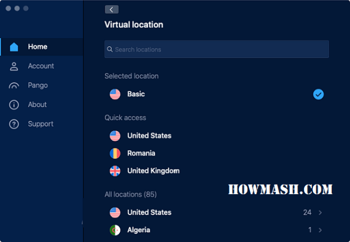hotspot shield for pc interface