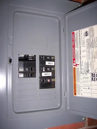 Circuit Breaker Wiring Diagram Further House Breaker Box Wiring