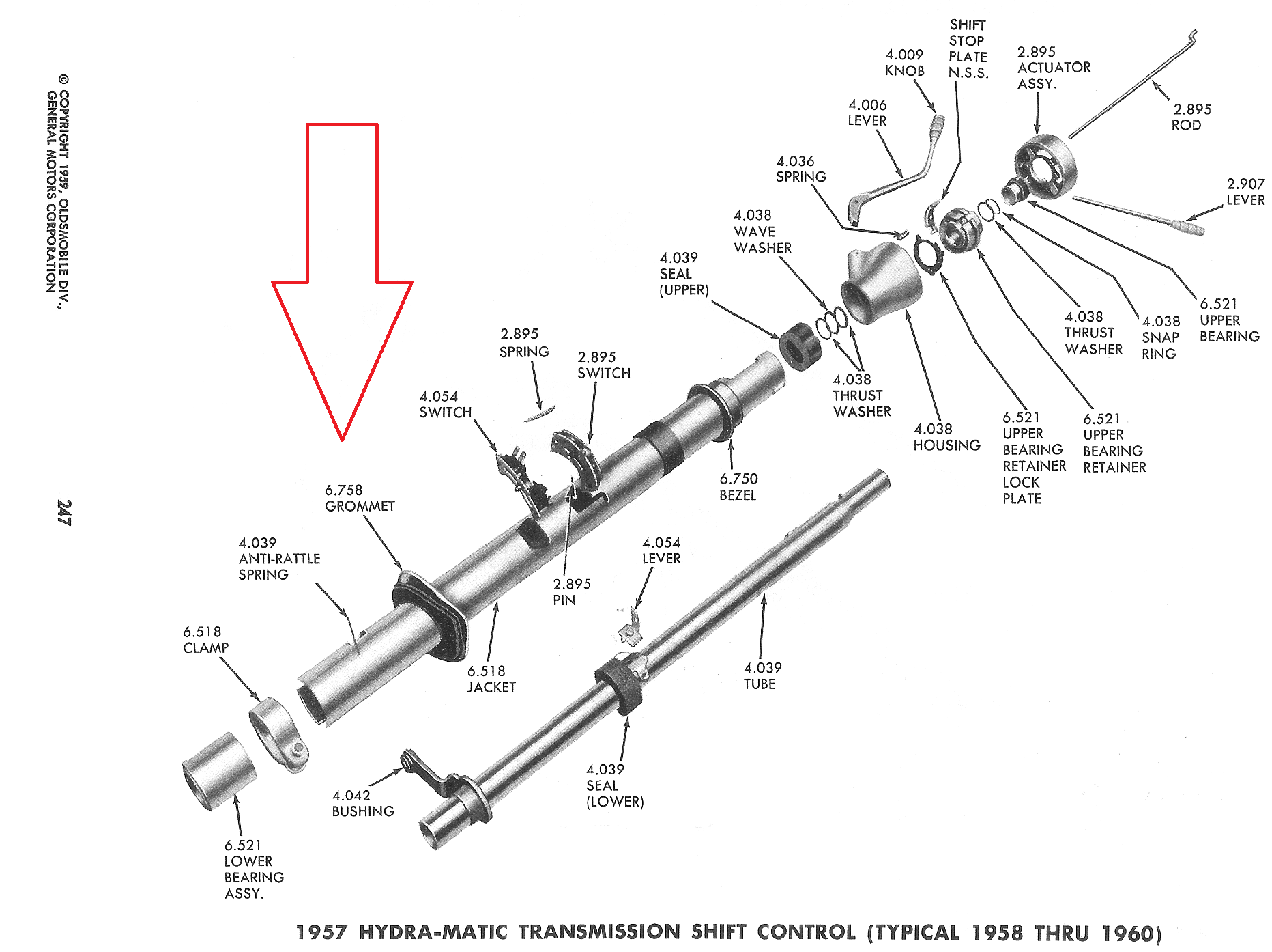 hight resolution of on all of my 1957 s the steering column grommet gasket that goes against the firewall is either deteriorated or missing on two cars only the metal plate