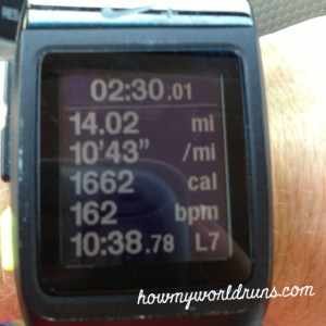 14 miles!