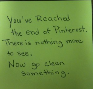 end of pinterest