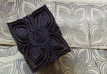wood block carve printing