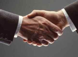 handshake for Confirmation Acceptance Letter