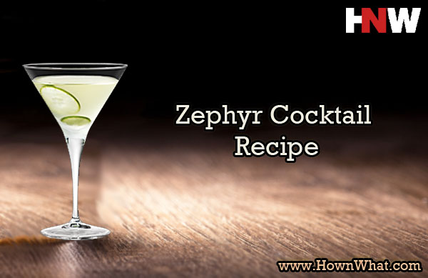 Zephyr Cocktail Recipe