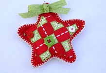 Star Felt Ornament Christmas Decoration