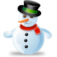 snowman for christmas decorations