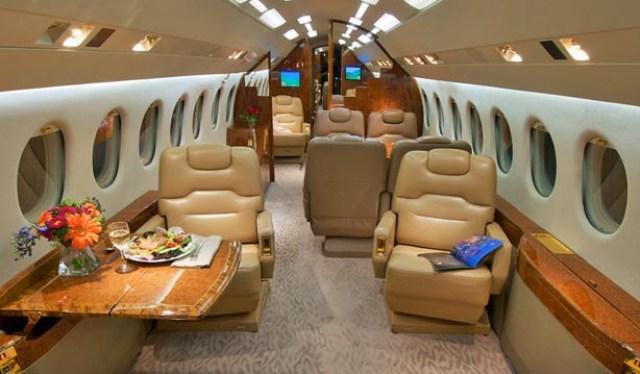 Dassault Falcon 900 Interior