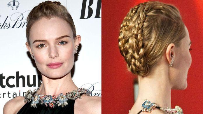 Bun-Braid Hairstyle