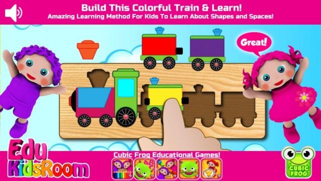 Preschool edukidsroom by Cubic Frog iOS App