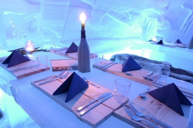 Snow Village Ice Restaurant