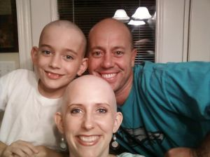 Kicking cancer with chemo...and an amazing support system.