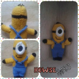 Knitted Despicable Me: Minions – Classic