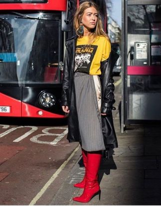 Outfit Inspiration - The Not So Basic Graphic Tee - The Face Of Style