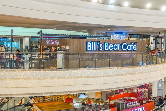 Photo grabbed from Bill's Bear Cafe's Facebook Page