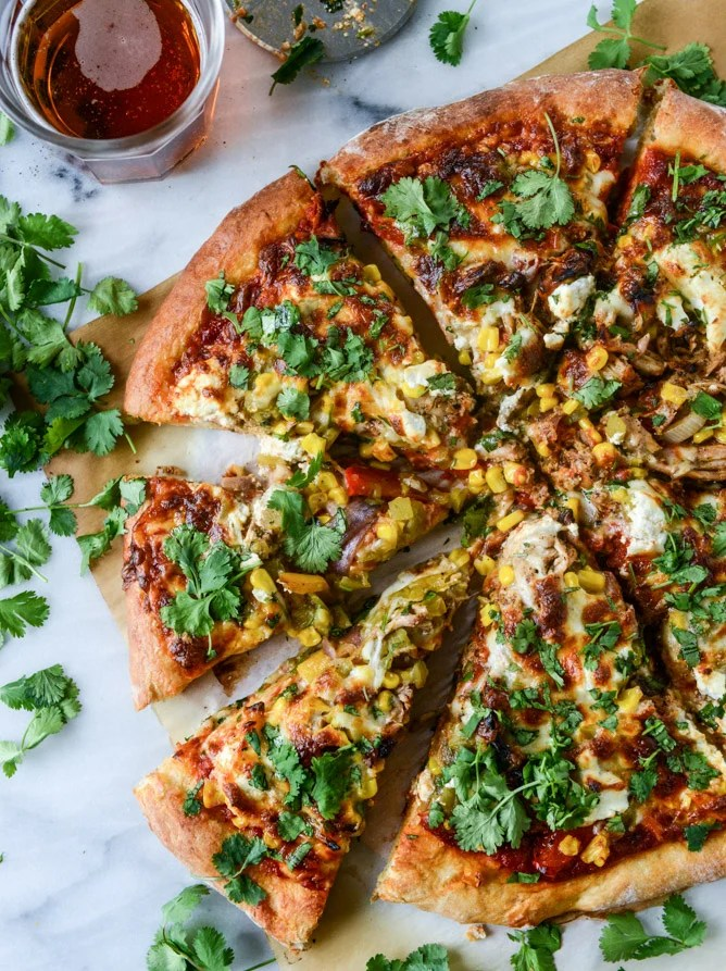 Honey Chipotle Chicken Pizza with Goat Cheese  How Sweet It Is