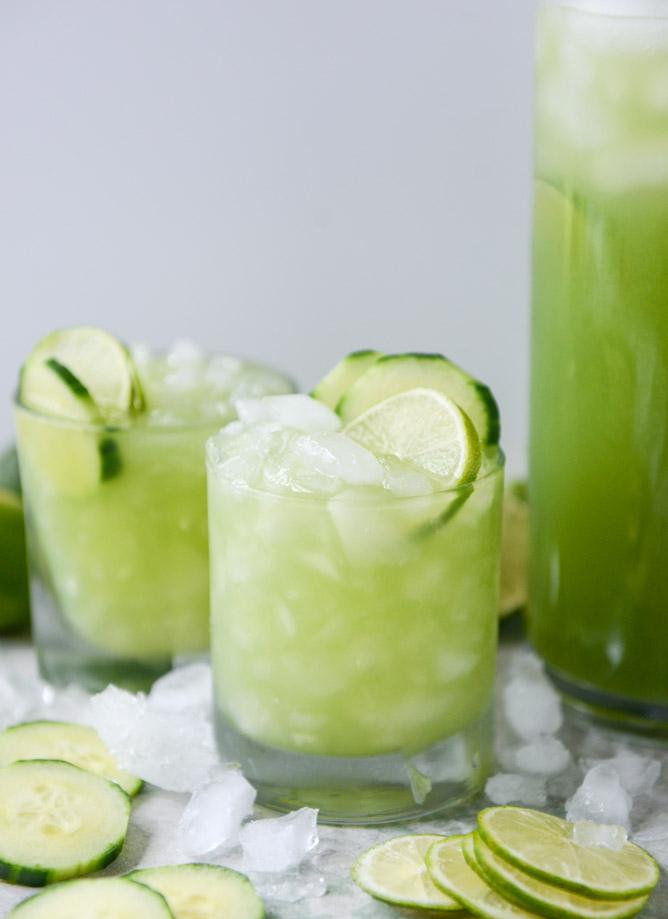 Cucumber Vodka Soda. - How Sweet Eats