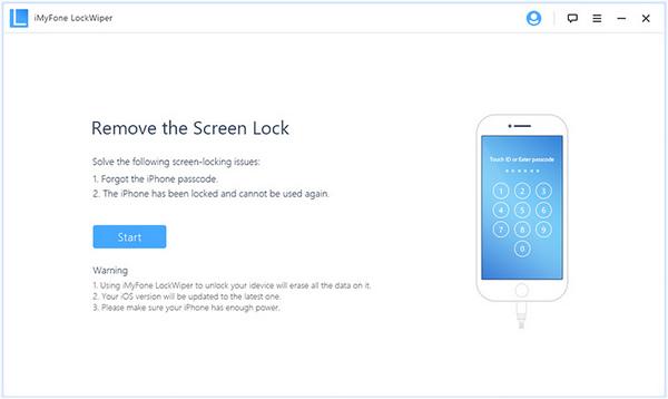 طريقة فتح قفل الايفون، استخدام برنامج iOS Unlocker