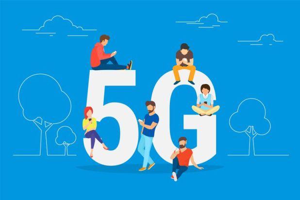 تطور وسائل التواصل بين العديد من الأجهزة الإلكترونية والبشر بعد الوصول إلى شبكات الجيل الخامس