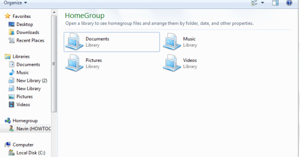 how to configure homegroup in windows 8 step by step