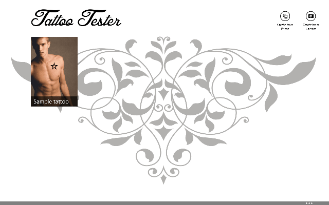 Tattoo Tester Windows 8 App - Choose Awesome Tattoo Design ...
