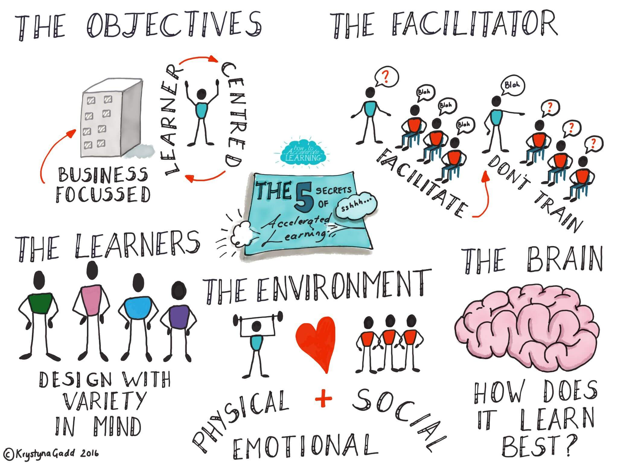 The 5 Not So Secret Secrets Of Accelerated Learning