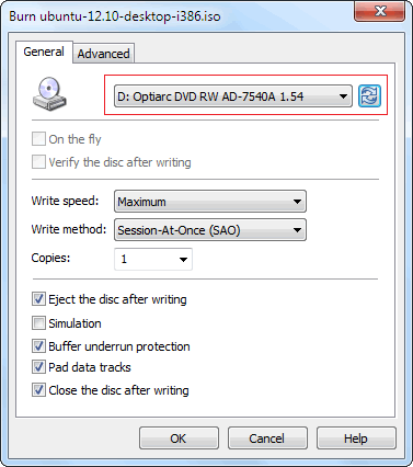Image result for burn iso file of ubuntu