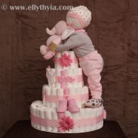 12 Super Cute Diaper Cake Ideas for Baby Showers