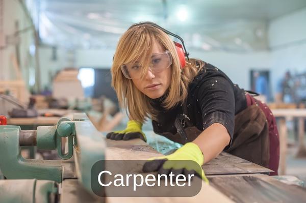 become a carpenter