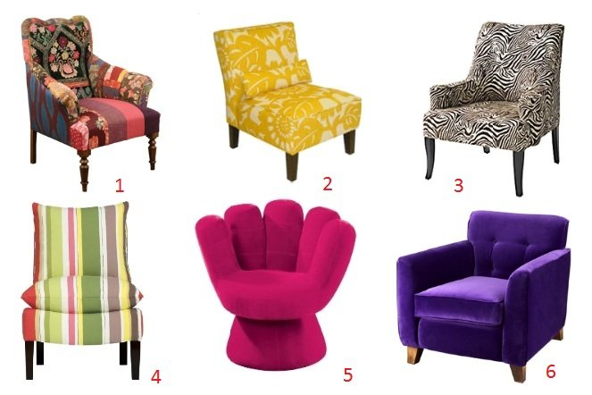 Trend Alert: Eclectic Chair Time! 1