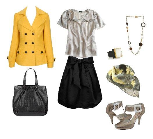 Inspiration Files: Yellow Coats 1