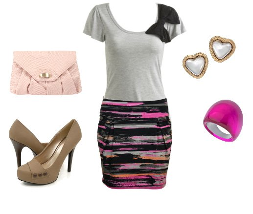 Daily Outfit Under $100: Abstract Print! 7