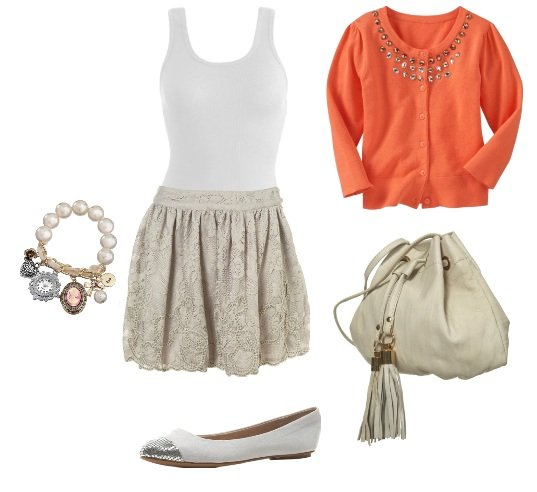 Shopping Time: Coral Cardigans and How to Wear Them 1