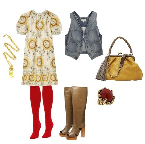 How to Wear Colorful Tights + 2 Fun Outfits