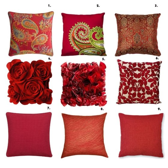 Shopping Time: Red Pillows! 15