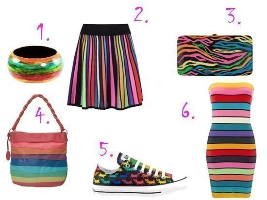 Rainbow Inspiration - Time to Color!  1