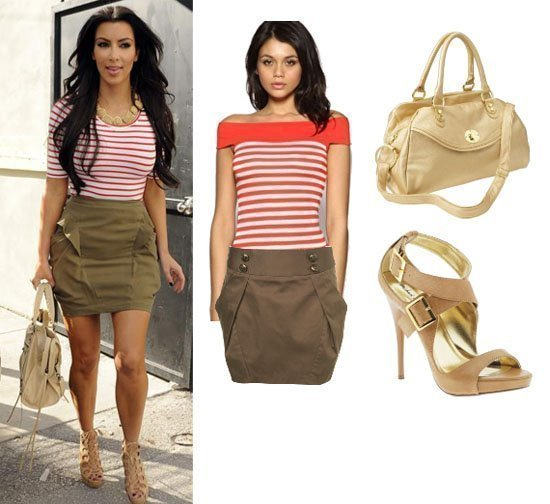 Get Her Style: Kim Kardashian's Look for Less Than $150!