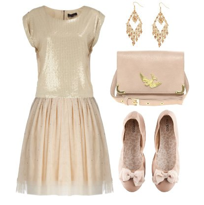 Daily Look Under $100: Beige and Pale Pink from Head to Toe 8
