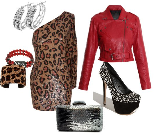 How to Combine Red with Leopard Without Looking Tacky 4