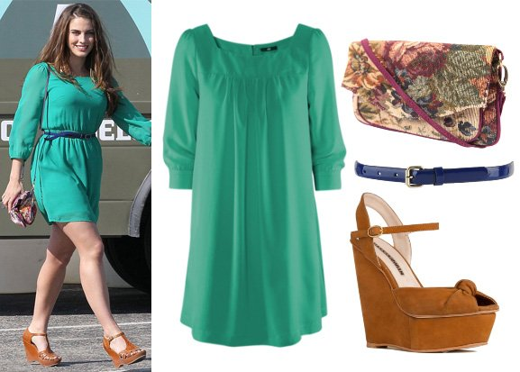 jessica lowndes style outfit 1