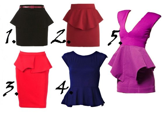 peplum skirt peplum dress peplum top copy 1