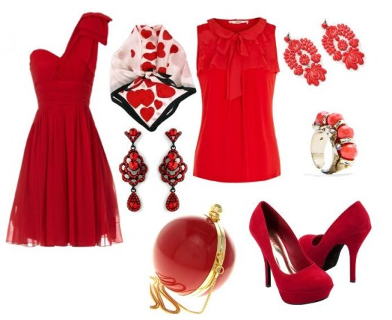 Red Picks Under $50 for Your Valentine's Day Outfit 1