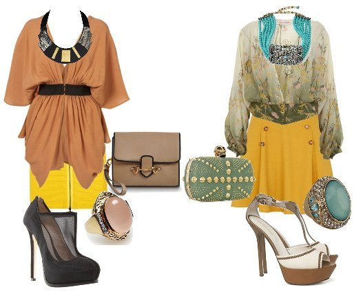 Reader's Request: How Should I Wear a Yellow Skirt? 1