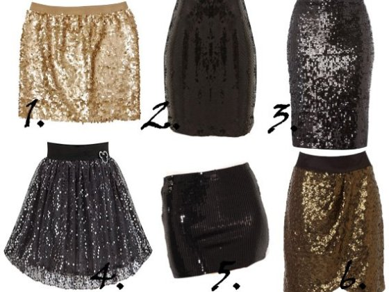 Party Time Shopping: Sparkly Sequin Skirts Under $50! 2