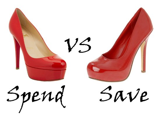 Spend or Save: Red Patent Pumps 5