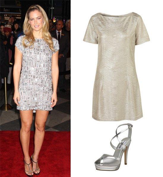 Get Her Style: Bar Refaeli's Silver Look Under $150