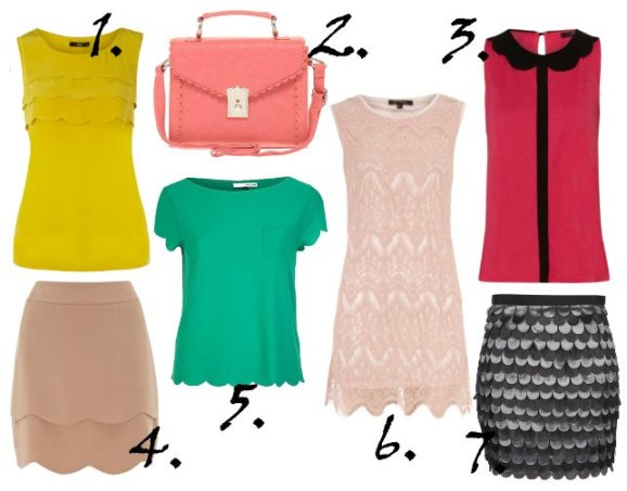 Trend Alert: Scallop Edges - 7 Feminine Picks Under $75 1