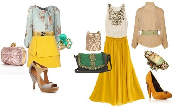 Reader's Request: How Should I Wear a Yellow Skirt? 2